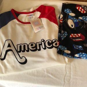 🆕 🇺🇸Lularoe Americana set 🇺🇸